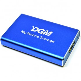 DGM My Mobile Storage External Portable SSD 256GB - Blue