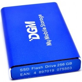 DGM My Mobile Storage External Portable SSD 256GB - Blue - 2