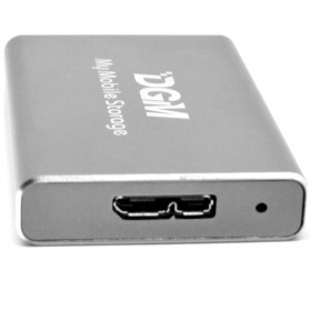 DGM My Mobile Storage External Portable SSD 512GB - Gray - 4
