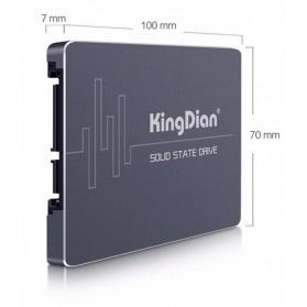 KingDian SSD S280 SATA III 2.5 Inch 480GB - 2