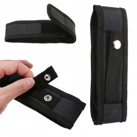 Mayitr Holster Senter LED Belt Pouch Nylon - SF0005482 - Black