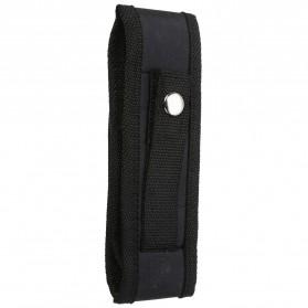 Mayitr Holster Senter LED Belt Pouch Nylon - SF0005482 - Black - 4