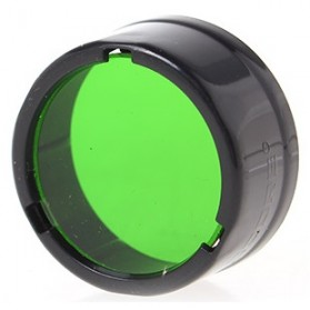 NITECORE Beam Colour Filter for Flashlights 25mm - NFG25 - Green