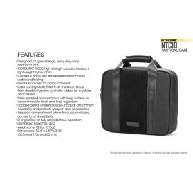Nitecore NTC10 Tactical Case - Black - 11