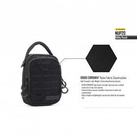 Nitecore NUP20 Tactical Utility Pouch - Black - 5