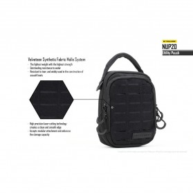 Nitecore NUP20 Tactical Utility Pouch - Black - 6