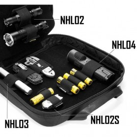 NITECORE Hook & Loop Holder - NHL03 - Black - 2