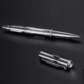 NITECORE Titanium Tactical Pen Self Defense - NTP20 - Silver - 4