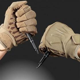 NITECORE Pena Pulpen Tactical Pen Self Defense CNC Aluminium - NTP21 - Black - 2