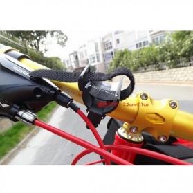 Sireck Bike Bracket Mount Holder for Flashlight - AB-2968 - Black - 2
