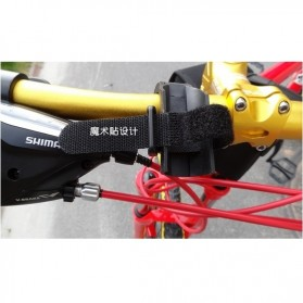 Sireck Bike Bracket Mount Holder for Flashlight - AB-2968 - Black - 3