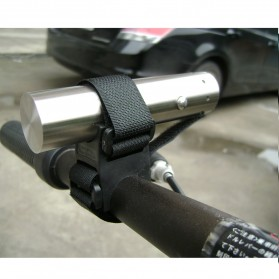 Bike Bracket Mount Holder for Flashlight - AB-2958 - Black - 6