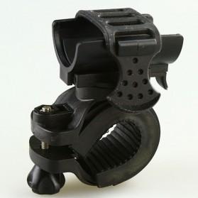 Bike Bracket Mount Holder for Flashlight - AB-2966 - Black - 4