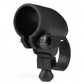 Bike Mount Holder for Flashlight - Black