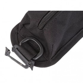 Holster Molle Tactical Pouch Aksesoris Tas Ransel Backpack - 180921 - Black - 8