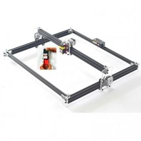 XINRUI Printer 3D Ukir Kayu Laser Engraving Machine Kit 500mW - DVP6550 - Black - 3