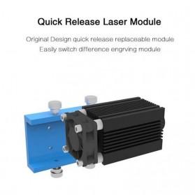 XINRUI Printer 3D Ukir Kayu Laser Engraving Machine Kit 500mW - DVP6550 - Black - 7