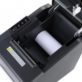 HSPOS POS Thermal Receipt Label Printer 80mm USB - HS-802U - Black - 3