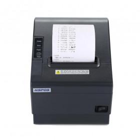 HSPOS POS Thermal Receipt Label Printer 80mm USB + Serial + LAN - HS-802USL - Black - 2