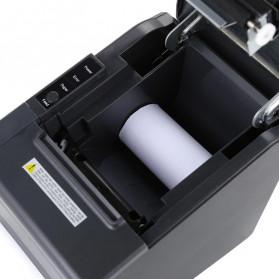 HSPOS POS Thermal Receipt Label Printer 80mm USB + Serial + LAN - HS-802USL - Black - 3