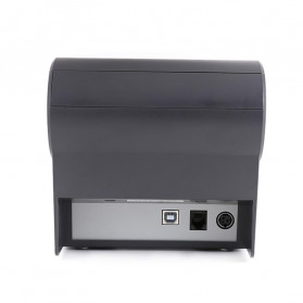 HSPOS POS Thermal Receipt Label Printer 80mm USB + Serial + LAN - HS-802USL - Black - 4