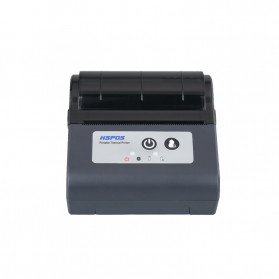 HSPOS Mini Portable Bluetooth Thermal Receipt Label Printer 80mm - HS-88AI - Black - 3