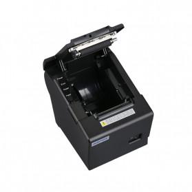 HSPOS POS Thermal Receipt Label Printer 58mm USB + LAN - HS-K58CUL - Black - 4