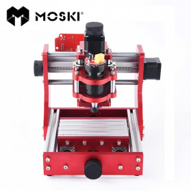MOSKI DIY Drilling Metal Engraver CNC 1310 with ER11 - Red