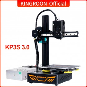 KINGROON Molding 3D Printer High Precision Printing - KP3S - Black