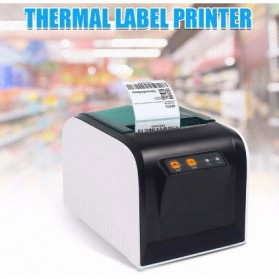 GPRINTER Thermal Label Printer Retail - GP3100TU - Black with White Side
