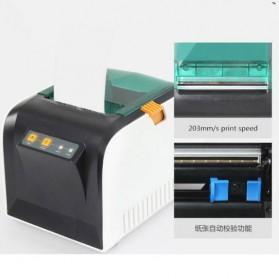 GPRINTER Thermal Label Printer Retail Bluetooth Version - GP3100TU - Black with White Side - 3