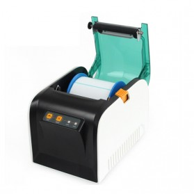 GPRINTER Thermal Label Printer Retail Bluetooth Version - GP3100TU - Black with White Side - 5