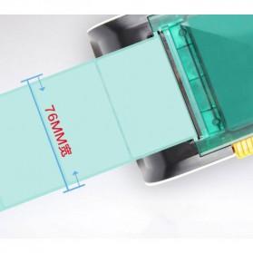 GPRINTER Thermal Label Printer Retail Bluetooth Version - GP3100TU - Black with White Side - 6