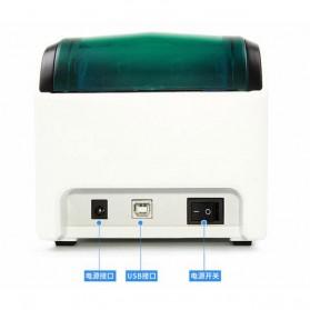 GPRINTER Thermal Label Printer Retail Bluetooth Version - GP3100TU - Black with White Side - 8
