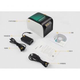 GPRINTER Thermal Label Printer Retail Bluetooth Version - GP3100TU - Black with White Side - 10