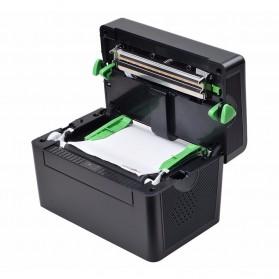 BIAOTOP Printer POS Label Thermal Receipt Printer 108mm - ZY-U288PD - Black - 2