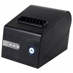 Xprinter Thermal Receipt Printer with Serial/LAN/USB Port - XP-C260K - Black