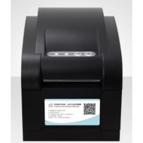 Xprinter Thermal Barcode Printer - XP-350B - Black - 4