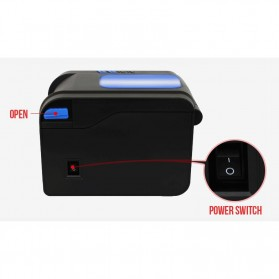 Xprinter POS Thermal Receipt Printer 80mm - XP-370B - Black - 4