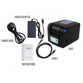 Xprinter POS Thermal Receipt Printer 80mm - XP-370B - Black - 6