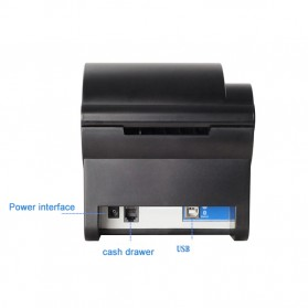 Xprinter POS Thermal Receipt Printer 58mm - XP-235B - Black - 5