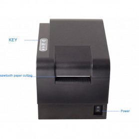 Xprinter POS Thermal Receipt Printer 58mm - XP-235B - Black - 6