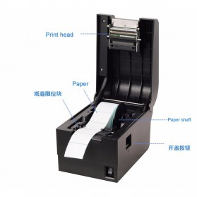 Xprinter POS Thermal Receipt Printer 58mm - XP-235B - Black - 7
