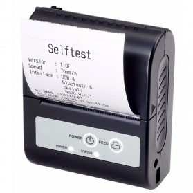 Xprinter POS Bluetooth Thermal Receipt Printer 58mm - XP-P100 - Black