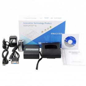 Xprinter POS Bluetooth Thermal Receipt Printer 58mm - XP-P100 - Black - 6