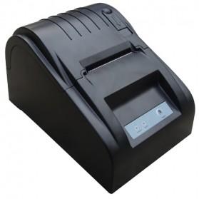 Zjiang POS Thermal Receipt Printer 58mm - ZJ-5890T - Black - 2