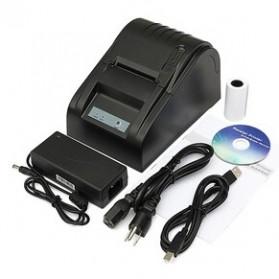 Zjiang POS Thermal Receipt Printer 58mm - ZJ-5890T - Black - 6