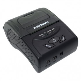Zjiang Mini Portable Bluetooth Thermal Receipt Printer - 5807 - Black - 2