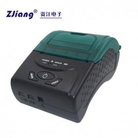 Zjiang Mini Portable Bluetooth Thermal Receipt Printer - 5807 - Black - 4