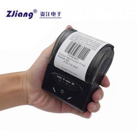 Zjiang Mini Portable Bluetooth Thermal Receipt Printer - 5807 - Black - 8